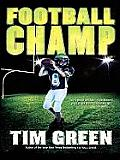 Football Champ (Large Print) (Thorndike Literacy Bridge Young Adult) Cover