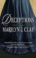 Deceptions: A Jamestown Novel (Large Print) (Wheeler Hardcover)