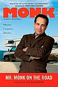 Mr. Monk on the Road (Large Print) (Monk) Cover