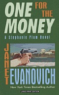 Stephanie Plum Novel #1: One for the Money (Large Print) Cover