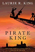 Pirate King: A Novel of Suspense Featuring Mary Russell and Sherlock Holmes (Large Print) (Mary Russell Novel) Cover