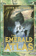 Books of Beginning #01: The Emerald Atlas (Large Print) Cover