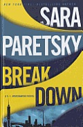 Breakdown (Large Print) (V. I. Warshawski Novel) Cover
