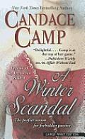 Legend of St. Dwynwen #01: A Winter Scandal (Large Print)