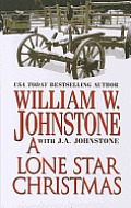 A Lone Star Christmas (Large Print) (Wheeler Western) by William W. Johnstone