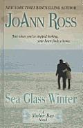 Sea Glass Winter (Large Print) (Shelter Bay Novels)
