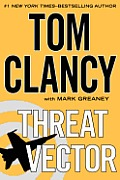 Threat Vector (Large Print) (Jack Ryan Novels) Cover