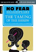 The Spark Notes No Fear Shakespeare: The Taming of the Shrew (Sparknotes No Fear Shakespeare) - Study Notes Cover
