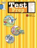 Test Prep: Grade 1 (Flash Kids Harcourt Family Learning) (Harcourt Family Learning)