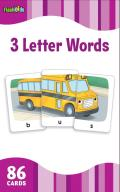 3 Letter Words (Flash Kids Flash Cards) (Flash Kids Flash Cards)