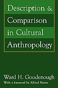 Description & Comparison in Cultural Anthropology