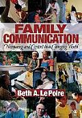 Family Communication Nurturing & Control in a Changing World
