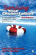 Surviving Your Dissertation A Comprehensive Guide to Content & Process