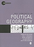 Key Concepts in Political Geography (09 Edition) Cover
