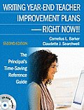 Writing Year-End Teacher Improvement Plans-Right Now!!: The Principal's Time-Saving Reference Guide