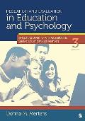 Research & Evaluation in Education & Psychology Integrating Diversity with Quantitative Qualitative & Mixed Methods 3rd edition