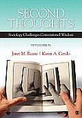Second Thoughts: Sociology Challenges Conventional Wisdom Cover