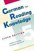 German for Reading Knowledge (5TH 05 - Old Edition)