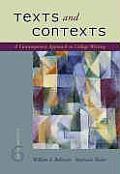 Texts & Contexts A Contemporary Appr 6th Edition