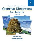 Grammar Dimensions 1, Fourth Edition: Form, Meaning, and Use