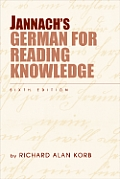 Jannach's German for Reading Knowledge (6TH 09 - Old Edition)