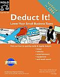 Deduct It Lower Your Small Business 2nd Edition