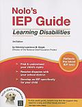 Nolos Iep Guide Learning Disabilities 3rd Edition
