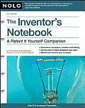 Inventors Notebook A Patent It Yourself Companion