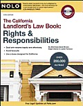 California Landlord's Law Book: Rights & Responsibilities [With CDROM]