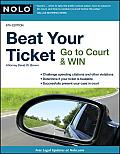 Beat Your Ticket: Go to Court & Win (Beat Your Ticket) Cover