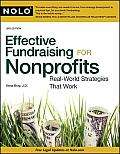 Effective Fundraising for Nonprofits: Real-World Strategies That Work, 3rd Ed. Cover