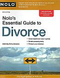 Nolos Essential Guide to Divorce 3rd Edition