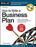 How to Write a Business Plan 10th Edition With CD ROM