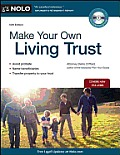 Make Your Own Living Trust, 10th Ed. Cover