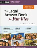 The Legal Answer Book for Families Cover
