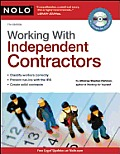 Working with Independent Contractors [With CDROM] (Working with Independent Contractors: The Employer's Legal Guide)