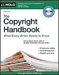 The Copyright Handbook: What Every Writer Needs to Know [With CDROM] (Copyright Handbook)