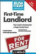 First Time Landlord Your Guide to Renting Out a Single Family Home 2nd Edition