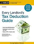 Every Landlords Tax Deduction Guide 8th Edition