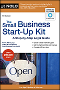 The Small Business start-up Kit: A step-by-step Legal Guide