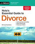 Nolo's Essential Guide to Divorce, 4th Ed. Cover