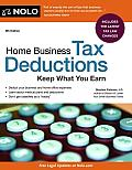 Home Business Tax Deductions: Keep What You Earn (Home Business Tax Deductions)