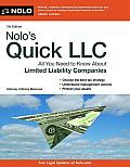 Nolo's Quick LLC (Nolo's Quick LLC: All You Need to Know about Limited Liability Companies)