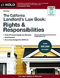 California Landlord's Law Book: Rights & Responsibilities (California Landlord's Law Book: Rights & Responsibilities)