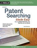 Patent Searching Made Easy: How to Do Patent Searches on the Internet and in the Library (Patent Searching Made Easy: How to Do Patent Searches on the Internet & in the Library)
