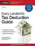 Every Landlords Tax Deduction Guide 10th Edition