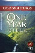God Sightings: One Year Bible-NLT