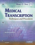 Medical Transcription Techniques & Procedures With CDROM 6th edition
