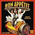 Cal14 Bon Appetit Vintage Poster Art