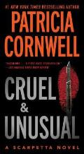 Cruel and Unusual (Kay Scarpetta Mysteries) Cover